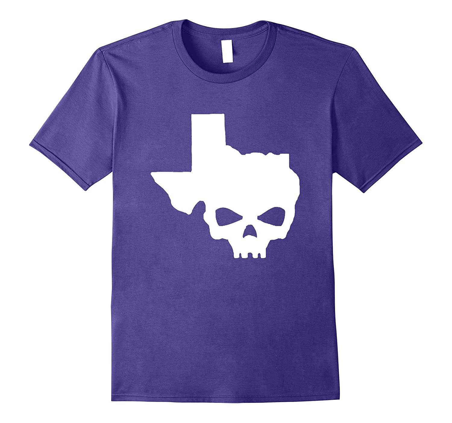Original Texas Skull Home T-Shirt Biker Life Strong Proud-TJ