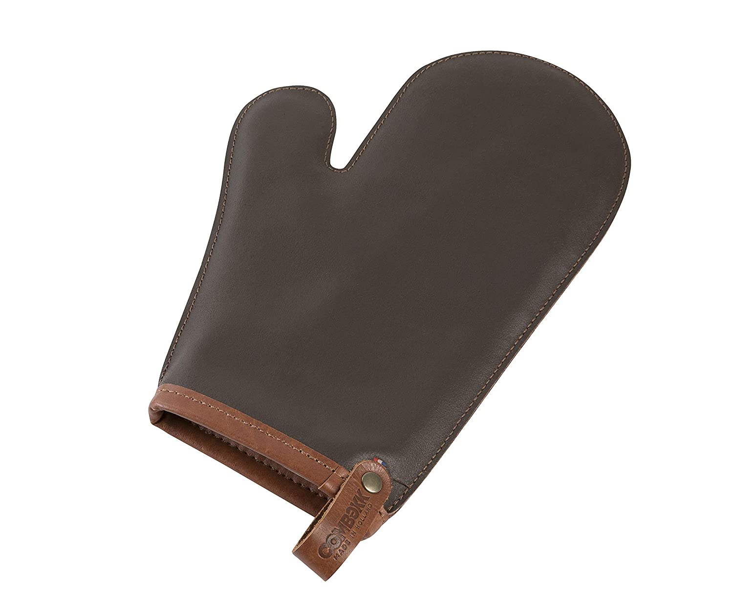 Cuisipro 75500122 Combekk Leather Dutch Oven Glove, one size, Brown