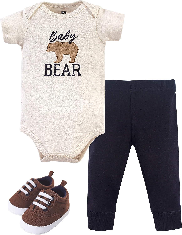Hudson baby Baby-Boys Unisex Baby T-Shirt Set