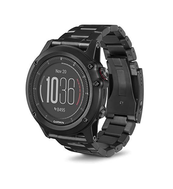 Garmin 010 - 01338 - 7B fēnix 3 HR Running GPS, en Titanio con DLC ...