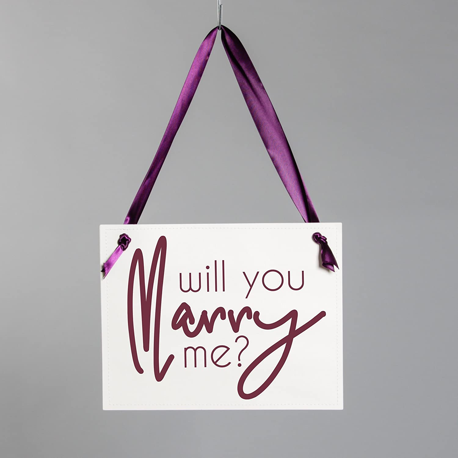 Engagement Idea Will You Marry Me Proposal Sign