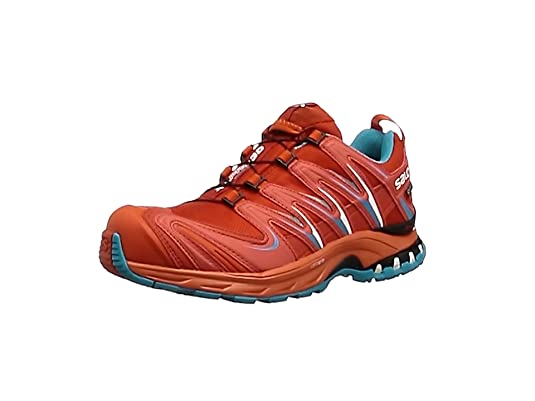 Salomon Bajo XA Pro 3D GTX W Lava, Zapatillas de Trail Running para Mujer,