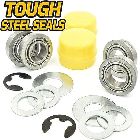 8 NEW Wheel Bearings for John Deere AM127304 LA140 LA145 LA150 LA155