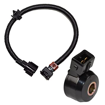 amazon com hqrp knock sensor w wiring harness for nissan hqrp knock sensor w wiring harness for nissan infinity mercury 24079 31u01 24079 31u01