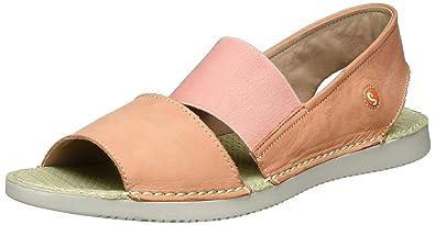 5b3736b9b8e Softinos Women s Tai383sof Washed Sandals red Size  9 UK  Amazon.co ...