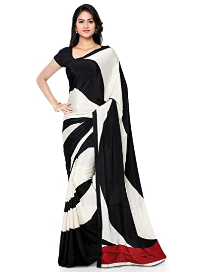 e609b0d5b7 Kvsfab Crepe Silk Saree (KVSSR1810ITY_2_Beige_Free Size): Amazon.in:  Clothing & Accessories