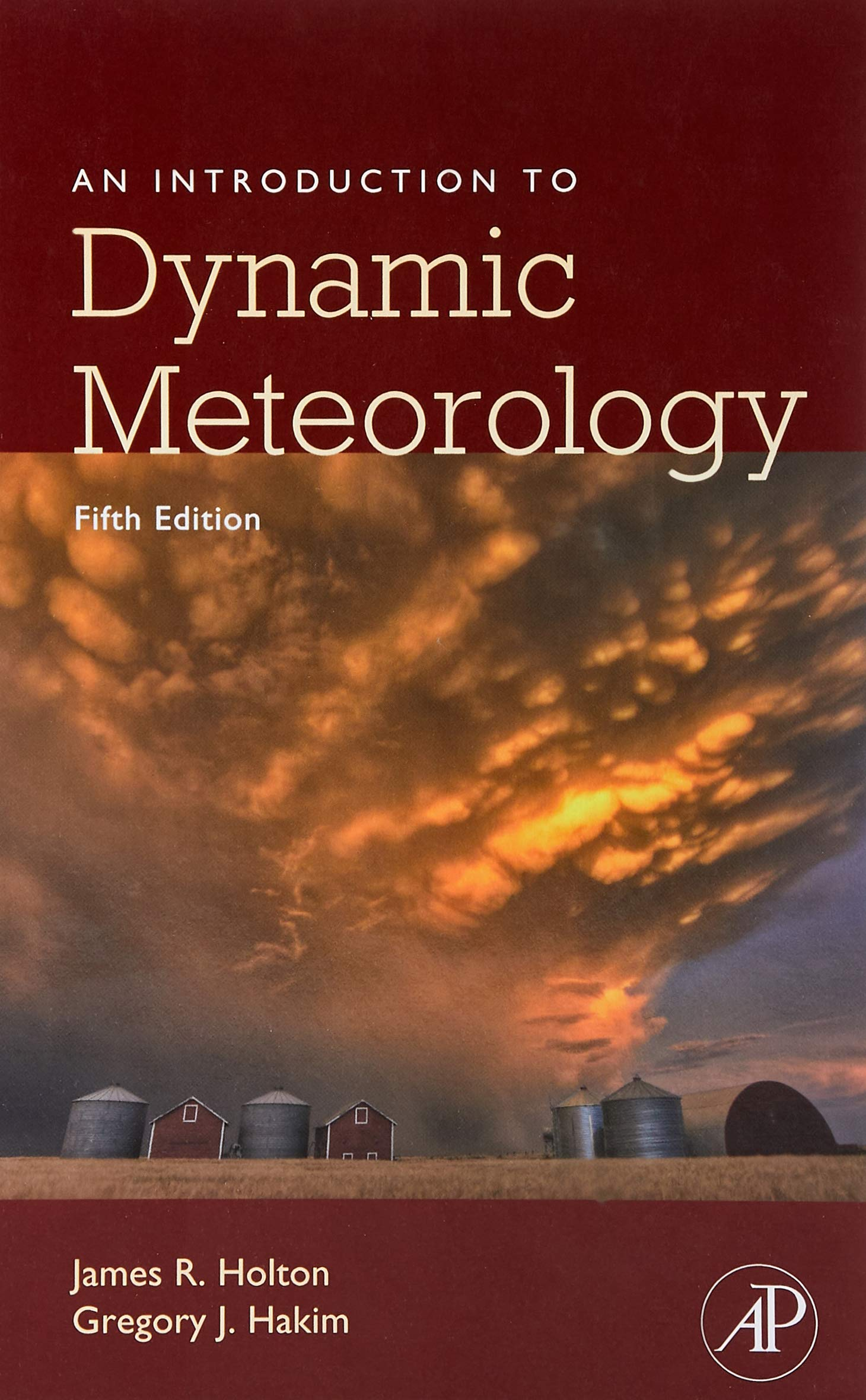 An Introduction to Dynamic Meteorology International Geophysics ...