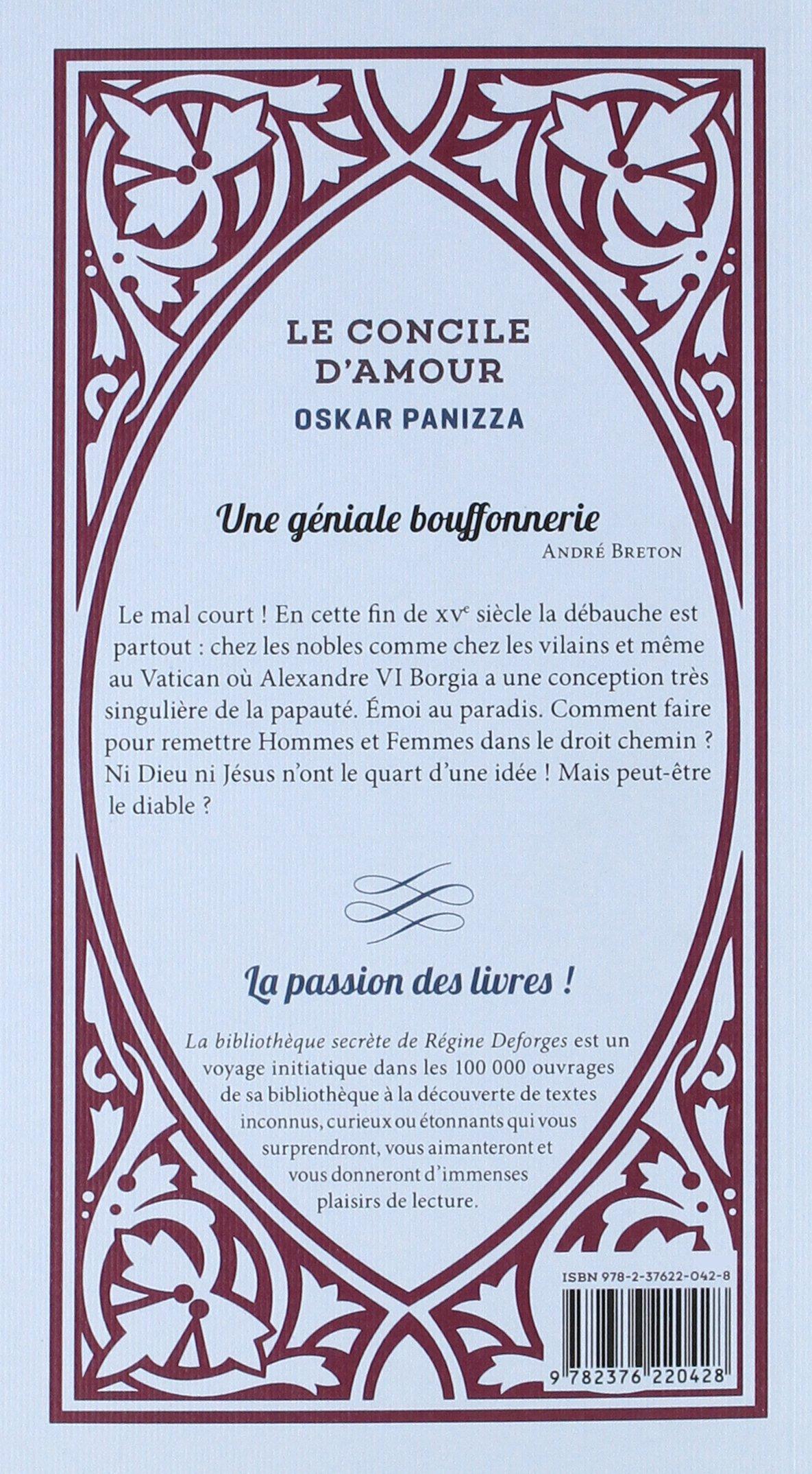 Amazonin Buy Le Concile Damourune Tragedie Céleste En