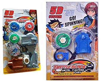 f68f5c925 Image Unavailable. Image not available for. Colour: Shop & Shoppee 5D System  Beyblade Set with Handle Launcher Metal Master Fury Fighters(2