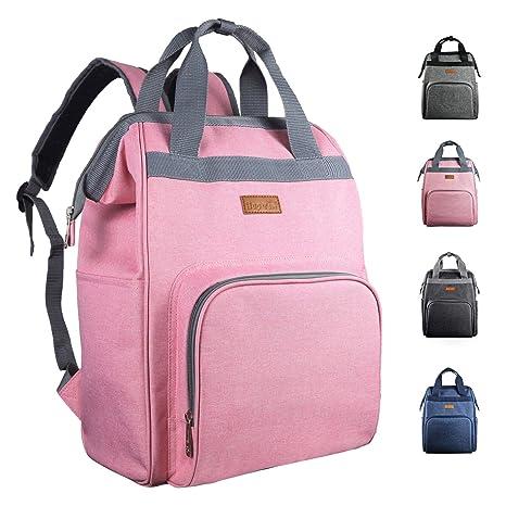 Mochila con bolsa de pañales, mochila de viaje multifunción, mochila de maternidad para bebés