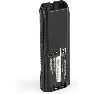 HYS 7.5V 2000mAh NiMh Rechargeable Battery NTN8923AR NTN8294A NTN8294B Replacement Ham Radio for Motoro XTS3000 XTS3500 XTS4250 XTS5000 XTS4250 MTP-200 MTP-300 Walkie Talkie