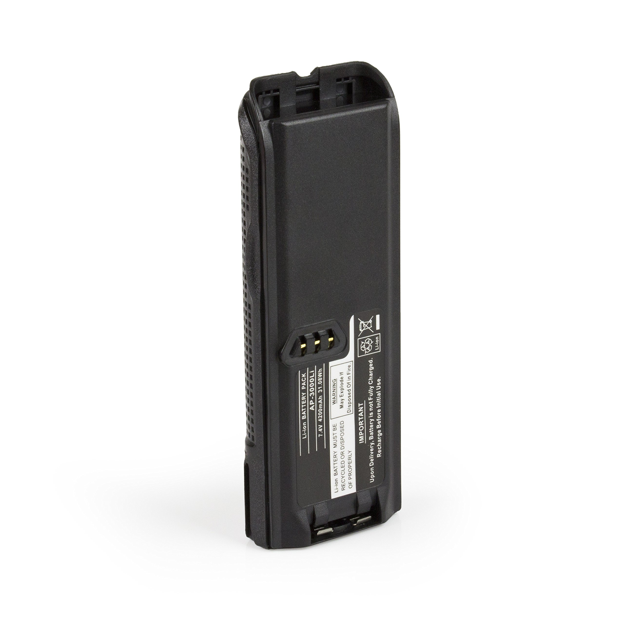 ExpertPower 4200mAh LI-ON NTN8293 NTN8294 NNTN9862 Slim Battery MOTOROLA XTS3000 3500 4250 XTS5000