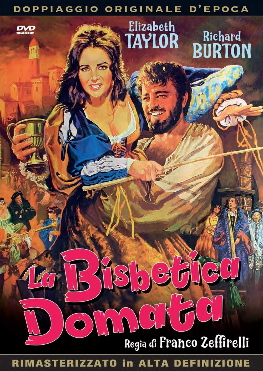La Bisbetica Domata (1967): Amazon.it: Taylor,Burton,Cusack,  Taylor,Burton,Cusack: Film e TV