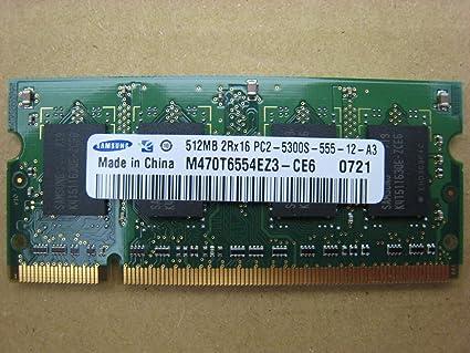 Samsung 512mb 2rx16 Pc2 5300s 555 12 A3 Ddr2 Ram 200 Pin So Dimm Amazon Co Uk Car Motorbike