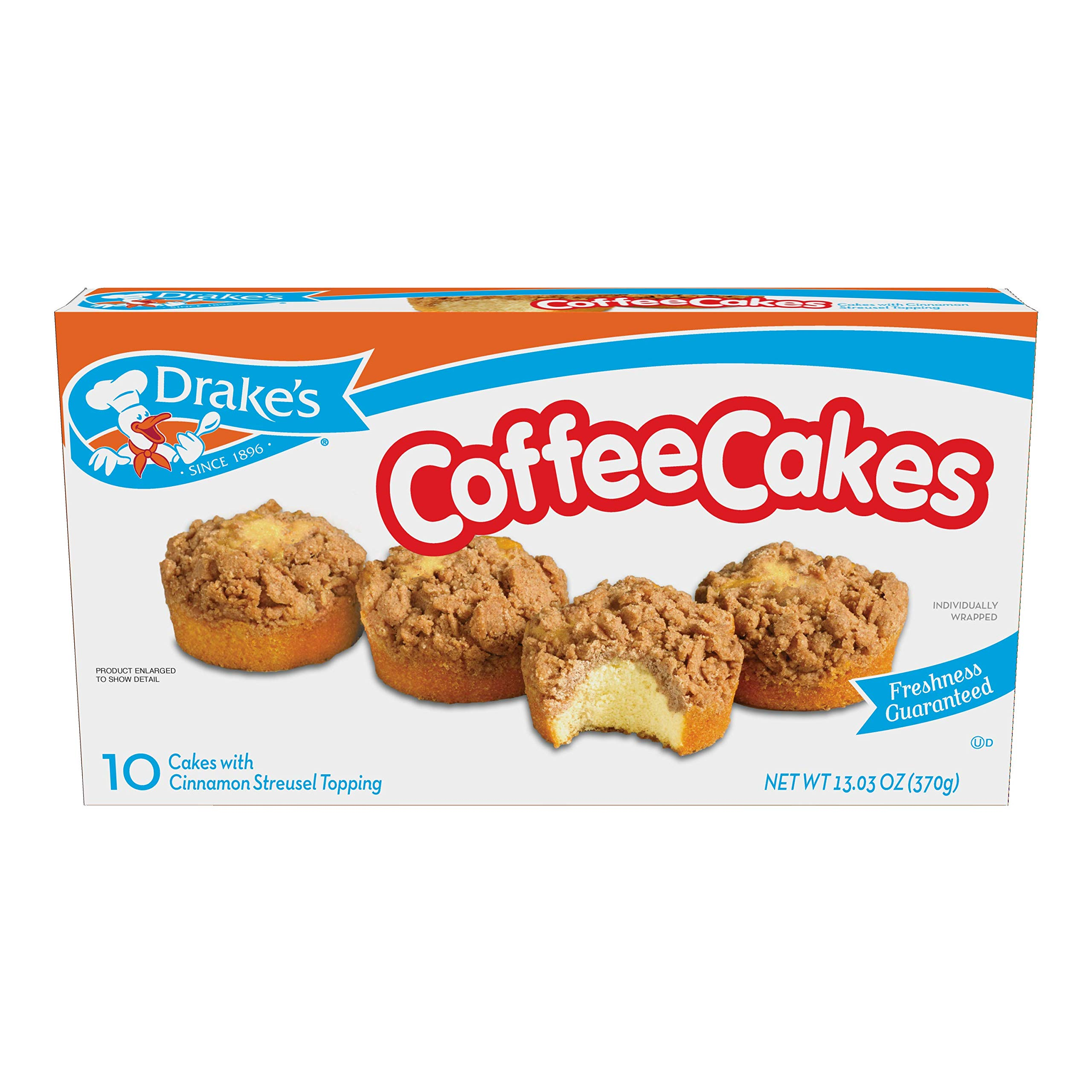 Drake's Coffee Cakes, 40 Count by Drake's