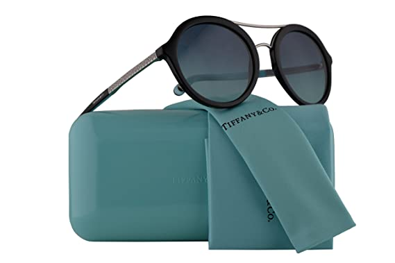 Amazon.com: Tiffany & Co. tf4136b anteojos de sol Negro w ...