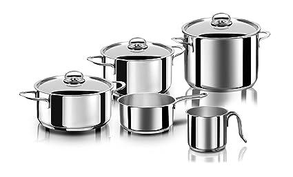 Aeternum Divina kit de cacerolas - Kits de cacerolas (Acero inoxidable, Aluminio, Acero