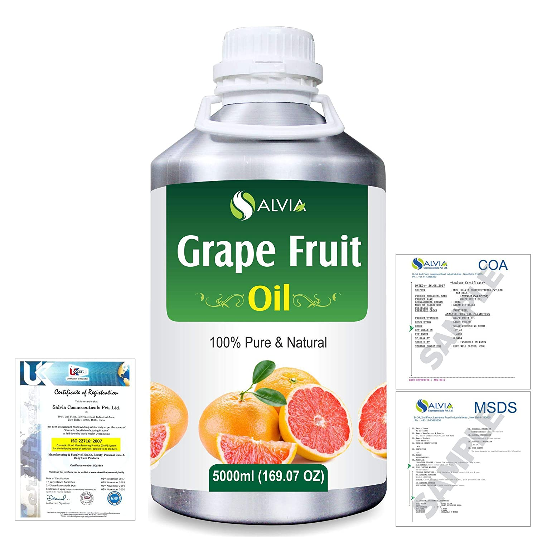 Grapefruit (Citrus paradisi) 100% Natural Pure Essential Oil 5000ml/169fl.oz. B07R4WWB9V