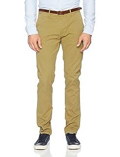 c6ad79694dd1 Scotch   Soda Herren Hose Nos Stuart-Slim Fit Cotton Elastan Garment Dyed  Chino