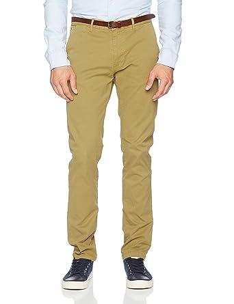 Mens Nos Stuart-Slim Fit Cotton/Elastan Garment Dyed Chino Pant Trouser Scotch & Soda New Buy Cheap High Quality wcBr2o8R