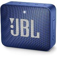 JBL GO 2 - Altavoz inalámbrico portátil con Bluetooth, parlante resistente al agua (IPX7), hasta 5 h de reproducción con sonido de alta fidelidad, azul