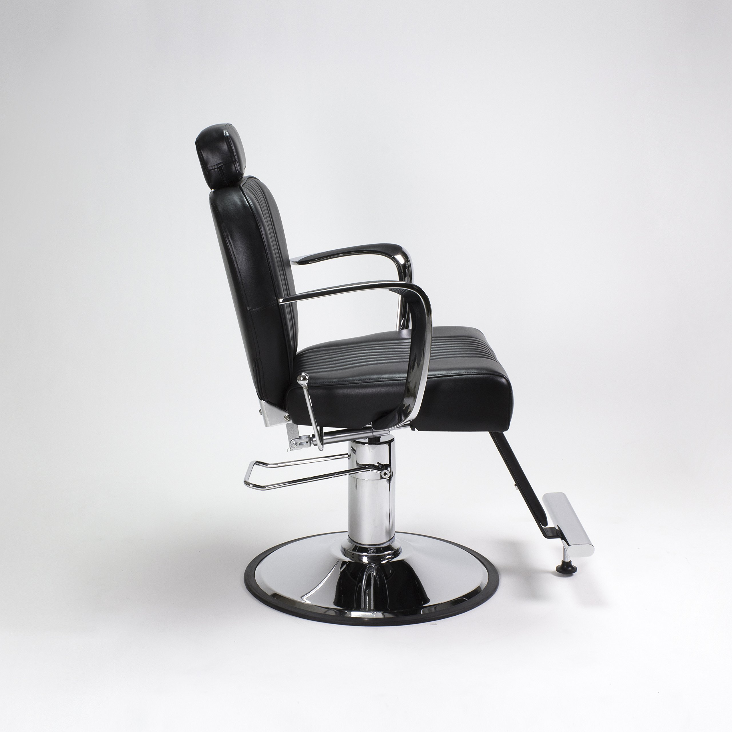 Beauty Salon Styling Chair Black AUSTEN All Purpose Salon Furniture and Barber Chairs