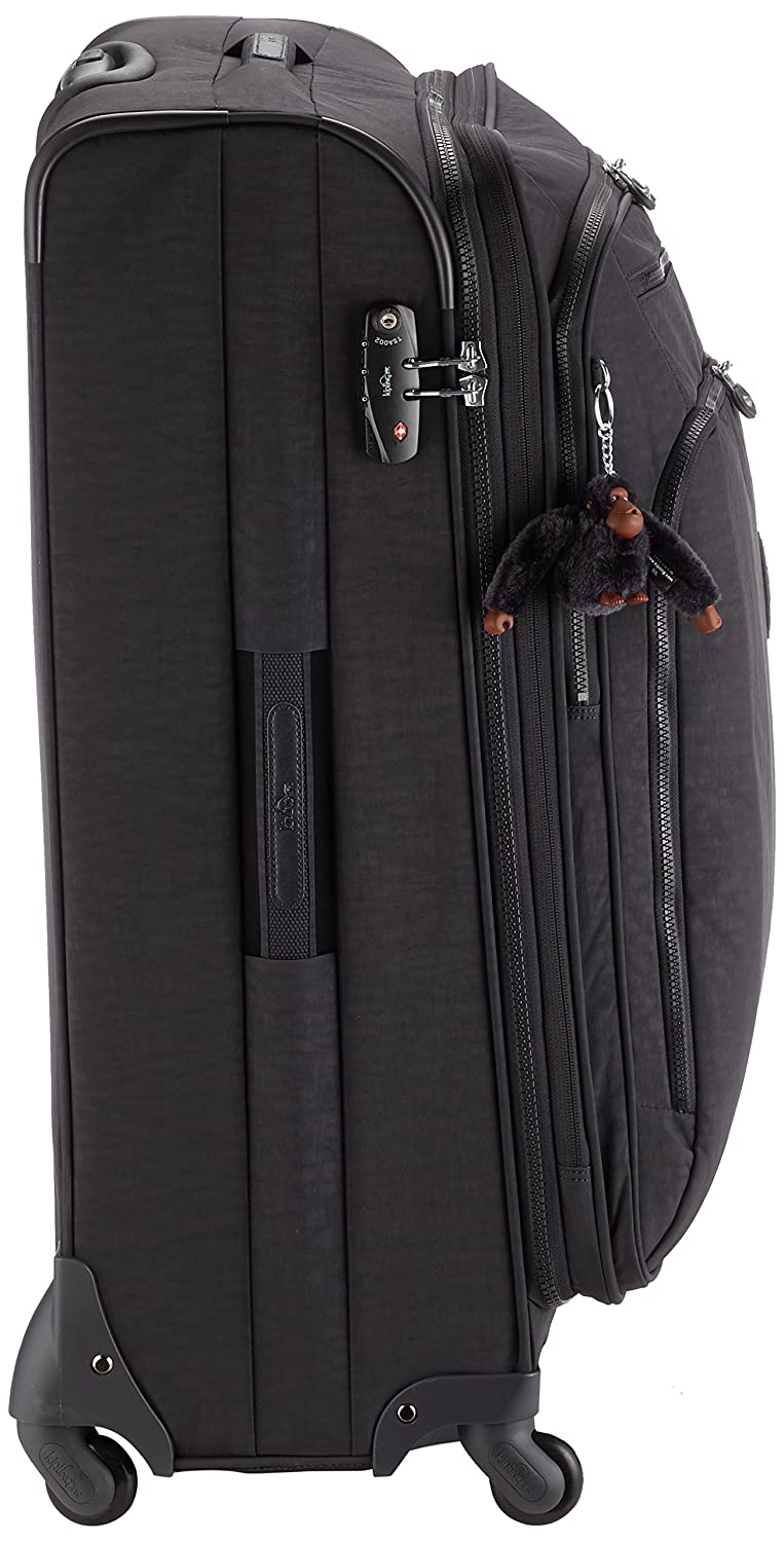 757cac12a37 Kipling Youri Spin 78, Spinner, 78 cm, 99 liters, Black (True Black):  Amazon.co.uk: Luggage