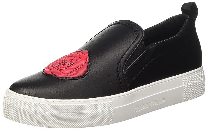 79a00015-9y099999, Sneakers para Mujer, Negro (Nero), 37 EU Trussardi