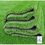 Kuber Industries High Density Artificial Grass Carpet Mat (6.5 x 2 ft, Green, GrassCT32)