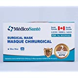 Medical Mask ASTM Level 2 - Surgical Mask - Procedure mask Level 2 (50 pcs) 3 Ply ASTM Level 2 by MédicoSanté