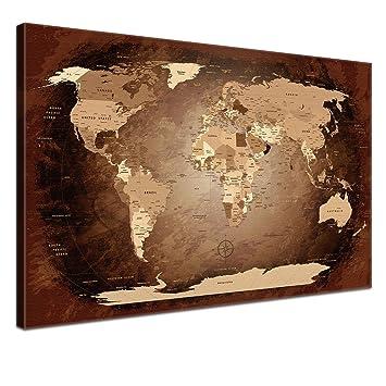 Latest lanakk mappemonde avec du lige pour pingler carte for Carte du monde maison du monde