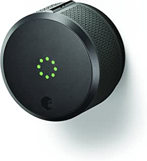 August Smart Lock Pro, 3rd Generation - Works with Alexa, AUG-SL-CON-G03, 1.5V