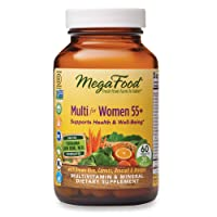 MegaFood, Multi for Women 55+, Supports Optimal Health and Wellbeing, Multivitamin...