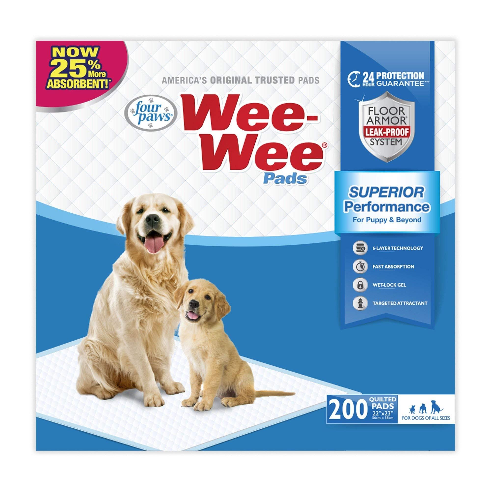 Wee-Wee Pads, 200 Count by Wee Wee Pads
