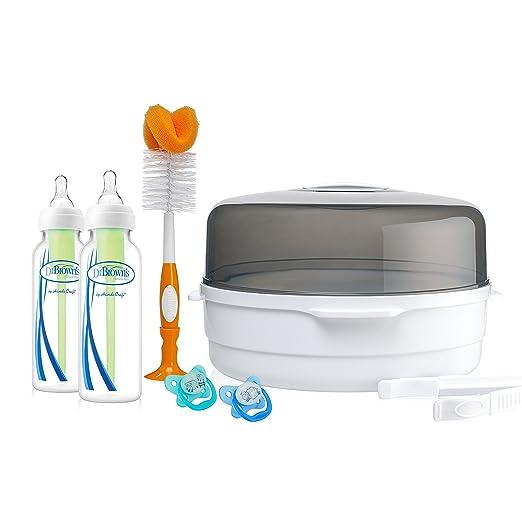 Amazon.com: Dr. Brown s Esterilizador a vapor de microondas ...