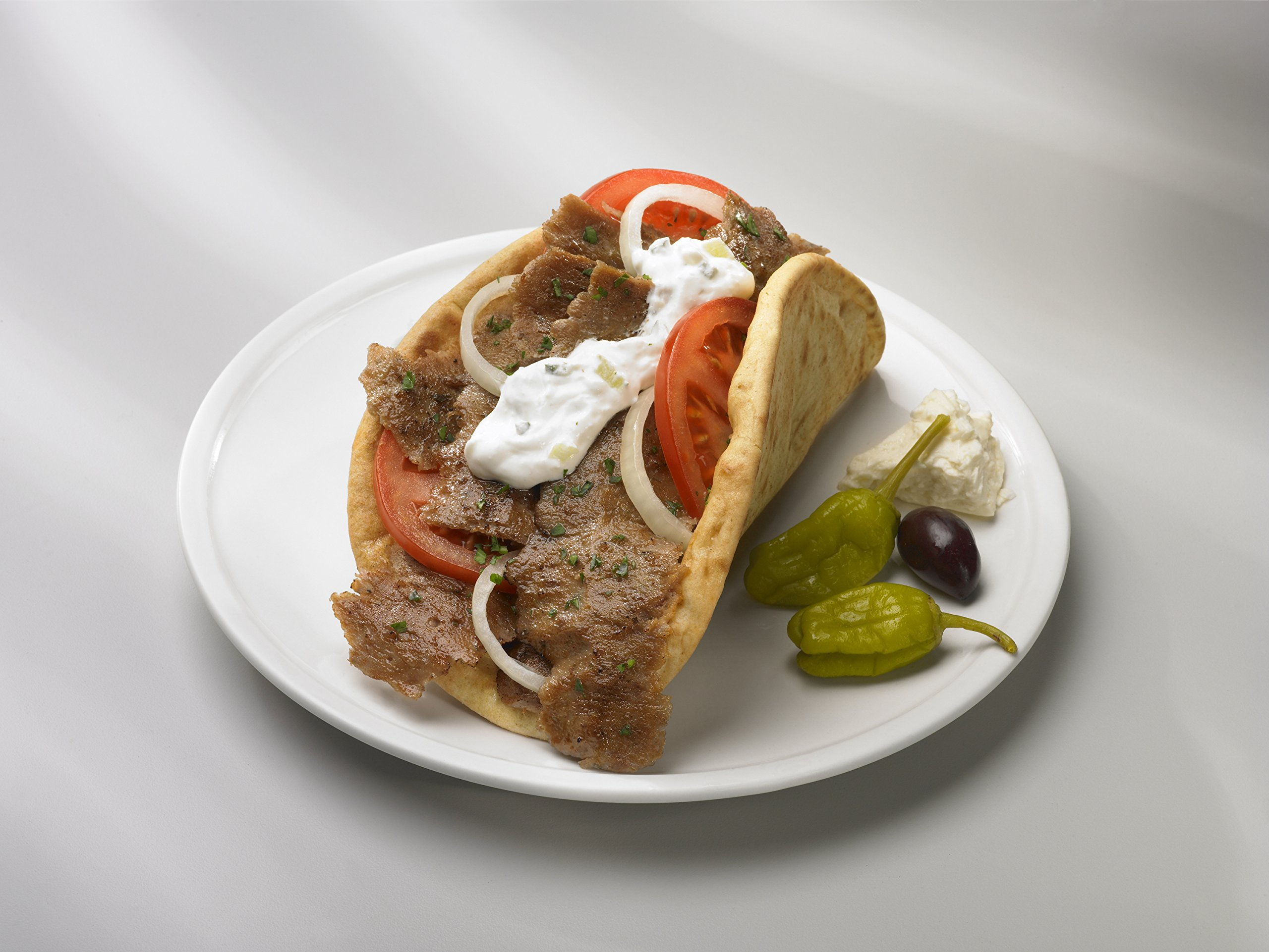Kronos Traditional Uncooked Beef & Lamb Gyro Cone 20 lb-Pack of 2