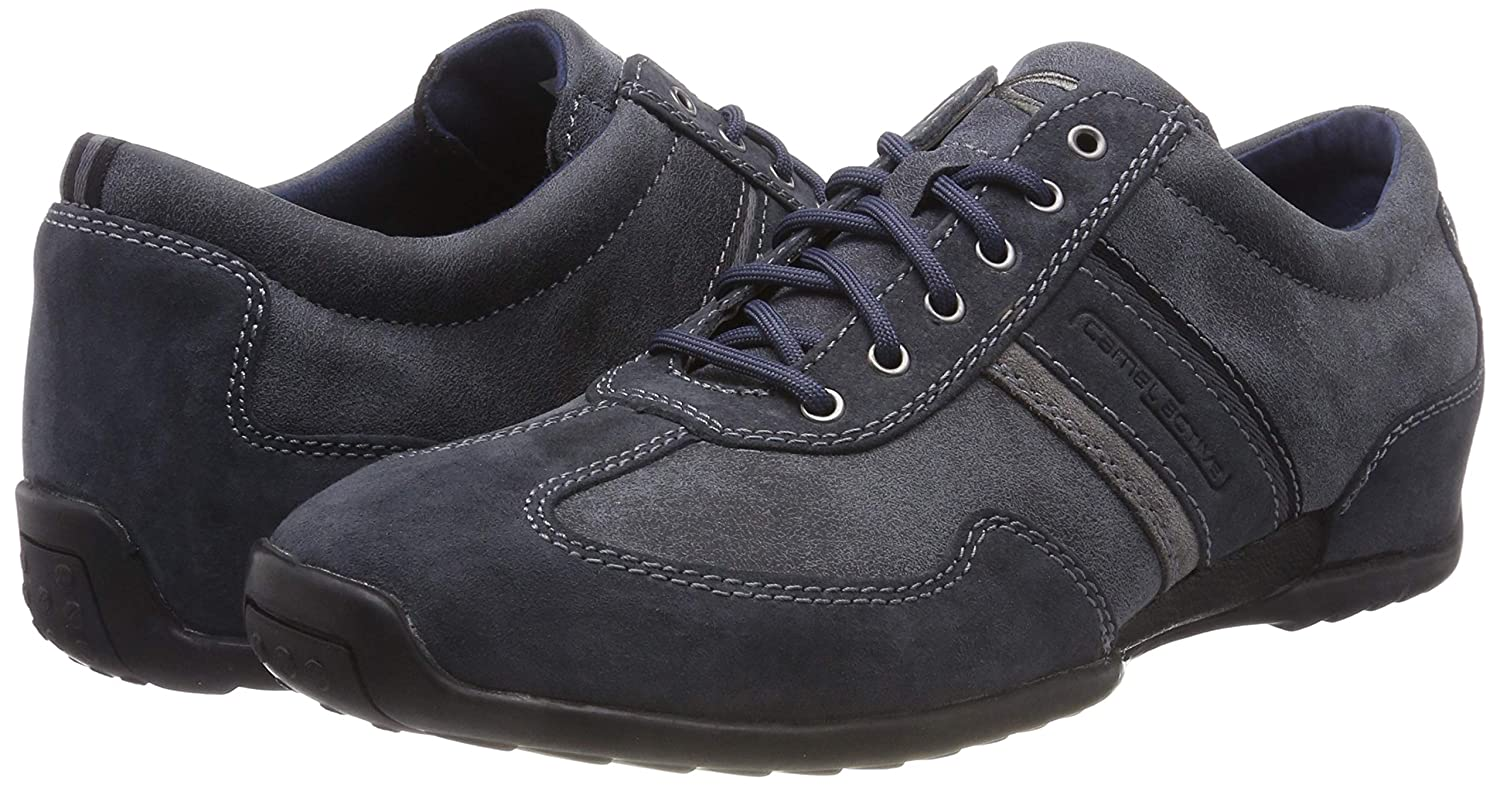 Camel Active Mens Fever Men/'s Casual Suede Lace Up Trainers