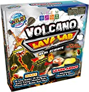 WILD! Science Volcano Lava Lab - Science Kits for Kids - STEM - Erupting Volcano Experiment