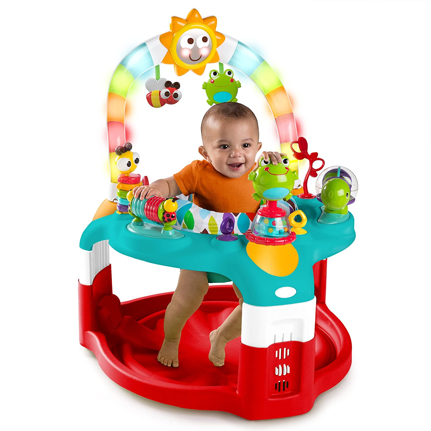 Amazon Bright Starts 2 in 1 Silly Sunburst Activity Gym and