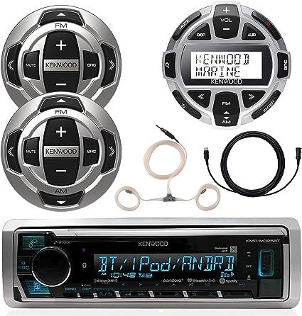 Accessories Kenwood Marine CD Bluetooth UBS Receiver 1x Digital Wired Remote