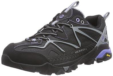 Merrell Womens Capra Sport Hiking Shoe       Black Grey