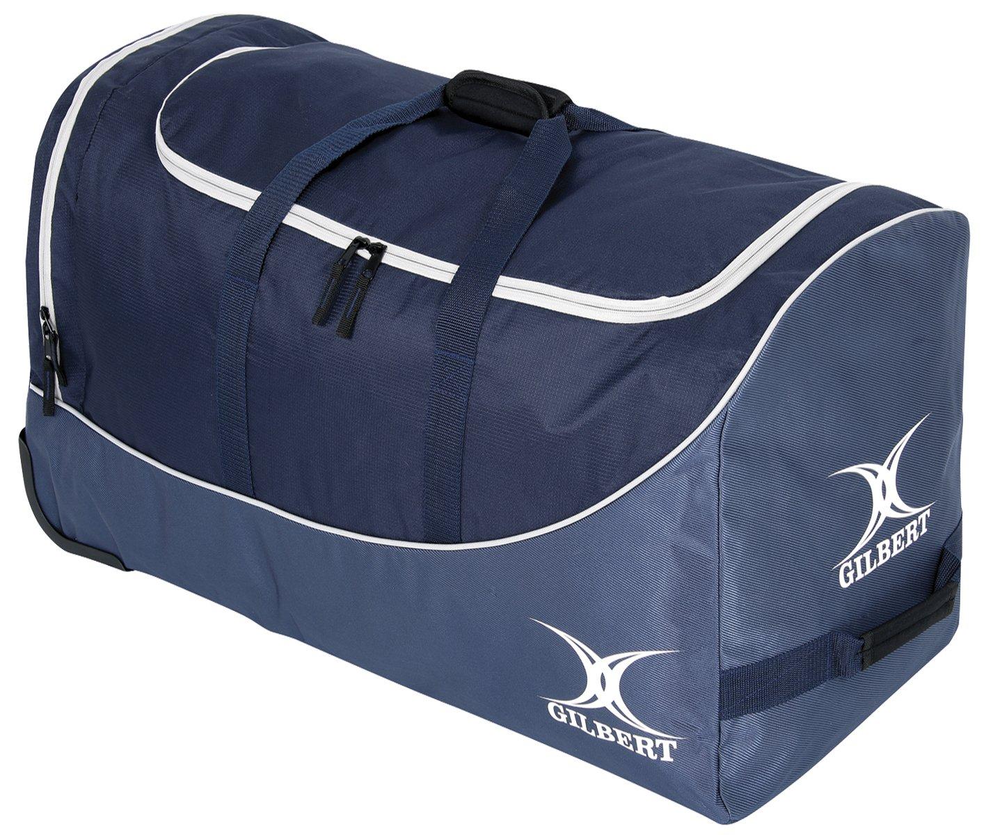 Gilbert Club - Bolsa para material de rugby, color azul/azul marino