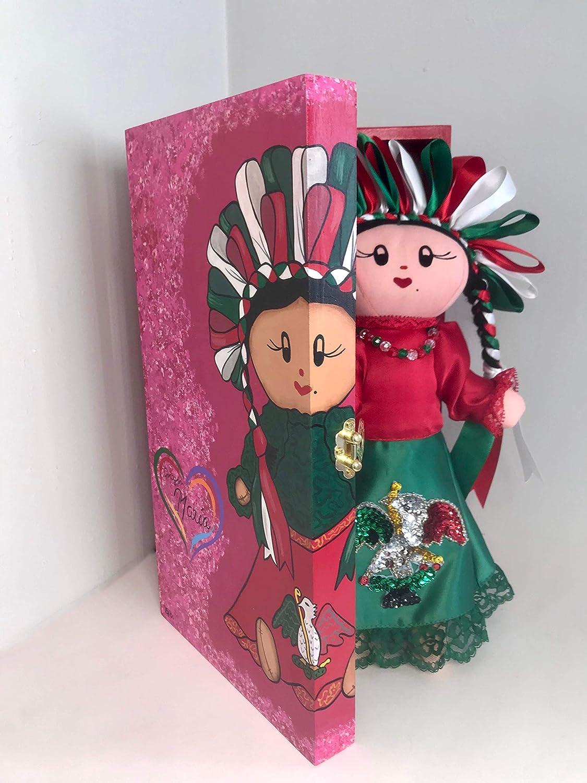 Mar/ía Patria Special edition Otomi rag doll