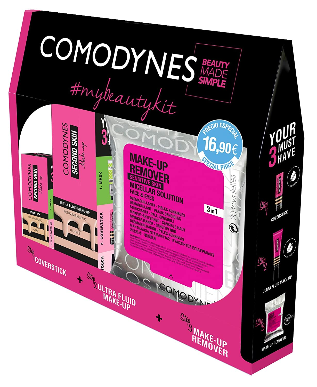 Comodynes - Kit de Belleza - Toallitas Desmaquillantes (20 uds) + ...