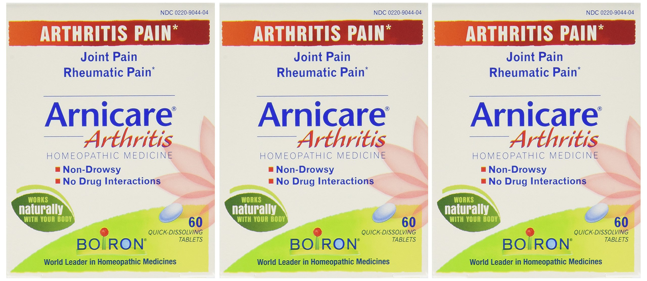 Boiron Arnicare Arthritis - 60 tabs (Pack of 3)