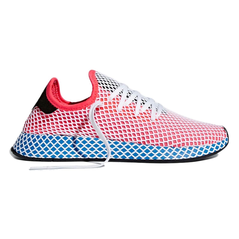 Adidas Deerupt Runner. Zapatillas Deportivas para Mujer. Sneaker Moda 2018 36 EU|Solar Red/Solar Red/Bluebird
