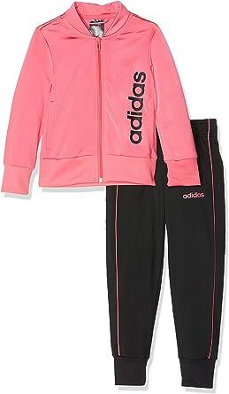 Londres chatarra aritmética  Amazon.com: adidas - Chándal lineal para niños, para correr, atletas,  escuela, deporte, gimnasio: Clothing