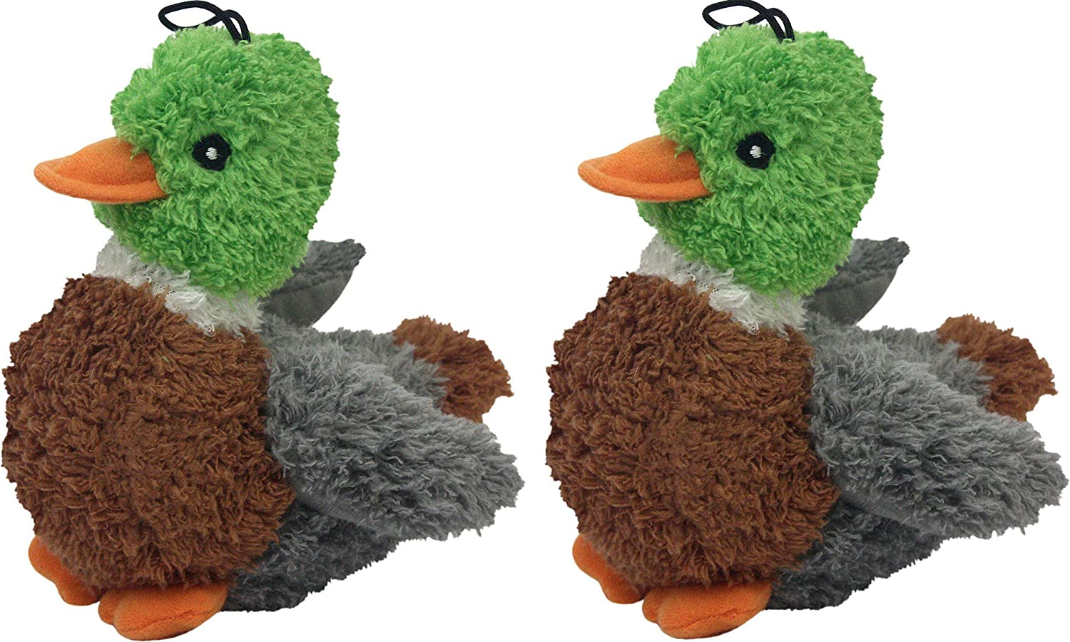 Multipet Look Who's Talking Dog Toy, Duck Pack of 2