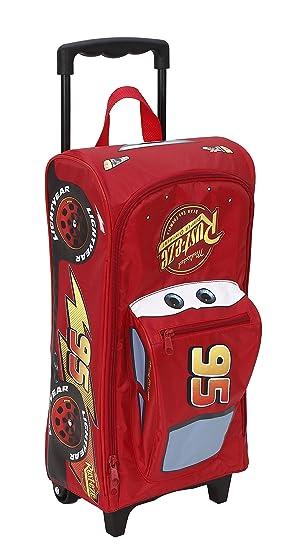 Large Disney Cars 3D Car Trolley Suitcase Luggage Bag