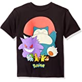 Pokemon Boys' Pokeball Group Short-Sleeved Tee